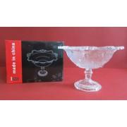Sausaininė stikl. 19cm su kojele 13PL9705