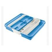 Dėklas stalo įrankiams plast. 37.5*41.5cm LACIS