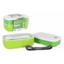 Dėžutės maistui 1.2L*2vnt su stalo įrankiais RB