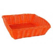 Krepšelis pintas oranžinis 24*24*7cm B922045
