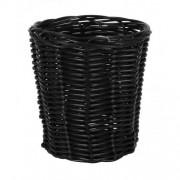 Krepšelis pintas juodas 12*15cm B922068