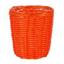 Krepšelis pintas oranžinis 12*15cm B922069