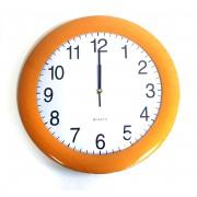 Laikrodis sieninis 35cm plast.  NGV0495