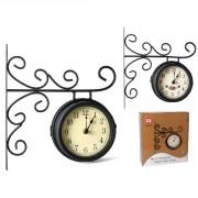 Laikrodis met. 15cm su laikikliu