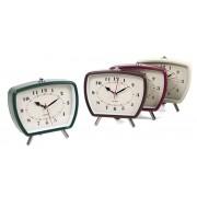 Laikrodis stalinis-žadintuvas 14cm
