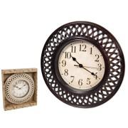 Laikrodis plast. sieninis 30.5cm DELFIS
