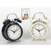 Laikrodis stalinis-žadintuvas 17cm