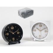 Laikrodis stalinis-žadintuvas 10cm DEXTER