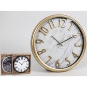 Laikrodis plast. sieninis 35cm COSMO