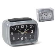 Laikrodis stalinis-žadintuvas 11x7x8cm LUZ