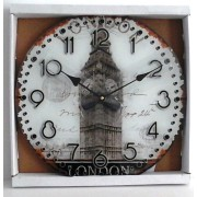 Laikrodis stikl. sieninis 33cm