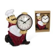Laikrodis plast. sieninis 33cm VIRĖJAS