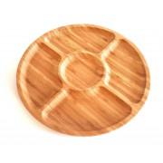 Padėklas bambukinis 30cm 5sk. ND30597