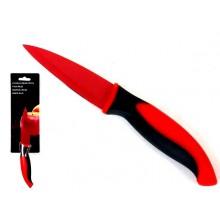 Peilis 9.5cm keraminė danga raudona