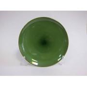 Lėkštė keramik. 20cm žalia 2228