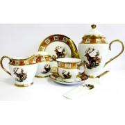 Servizas arbatai 25d. 'Briedžiai'  RSC56