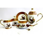 Servizas arbatai 25d. 'Briedžiai'  RSC57