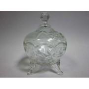 Cukrinė stikl. su dangteliu 9cm TP72
