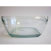 Salotinė stikl. 20cm kvadr.0889