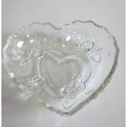 Saldaininė stik. 16*14cm širdelė 0904