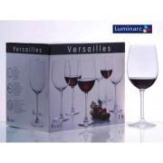 Taurės vynui  6vnt. 1939 Versailles  580 ml