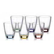 Stikliukai 6vnt spalv. mix A6 30ml