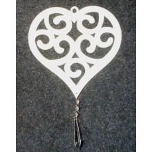 Dekoracija Širdelė 10-1453/1 30cm