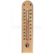 Termometras lauko medinis 20cm 02612