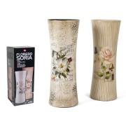 Vaza keramikinė 34cm dekor. SORIA