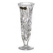 Vaza krištolinė 17cm Bohemia Crystal