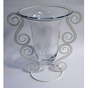 Vaza stikl. 10-21356B 33*22cm